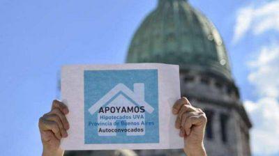 Cuarentena: hipotecados UVA reclaman