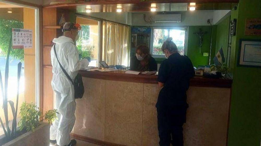 Ambiente realiza tareas de instrucción y control de procedimientos de manejos de residuos en hoteles