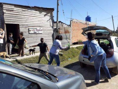 La UNLP comenzó con la entrega de bolsones de alimentos a comedores comunitarios