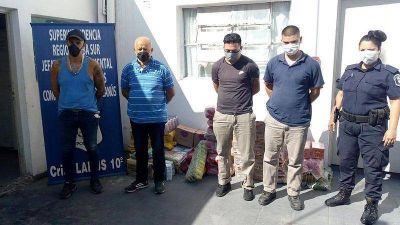 Desbaratan una banda que robaba los alimentos de comedores escolares de Lanús