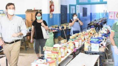 El Municipio asiste con alimentos a más de 45 mil familias