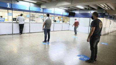 San Martín reabrió las cajas municipales para el pago de tasas