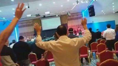 La municipalidad de Ezeiza clausuró el templo que violó la cuarentena