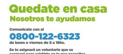 El programa de Voluntariado llega a miles de adultos mayores de Avellaneda