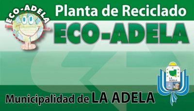 La Adela ganó un premio ambiental por la planta de reciclado