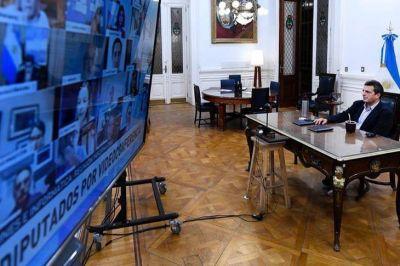 Nuevo round entre Massa y Cambiemos por las sesiones virtuales