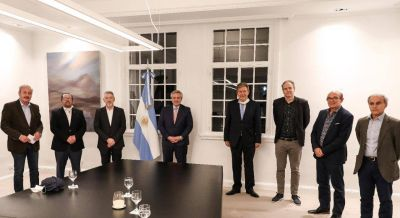 El presidente recibió en Olivos a las autoridades de ACIERA que integran el programa #SeamosUno