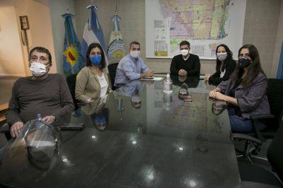 Jorge Macri recibió al bloque de concejales del Frente de Todos