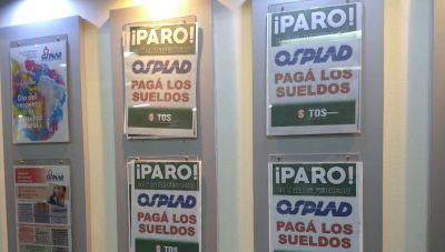 En plena pandemia, Osplad no paga los salarios y sus empleados van a la huelga