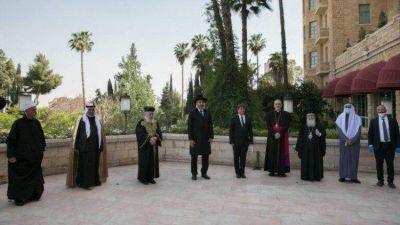 Israel: líderes interreligiosos rezan juntos por la salvación de la pandemia