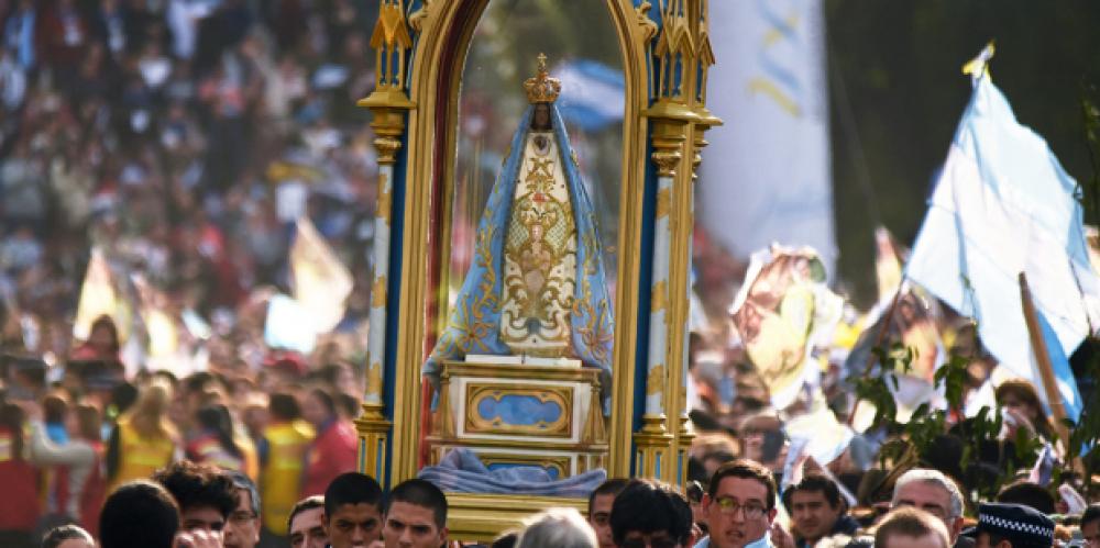 La Argentina celebrará la misa de la bienaventurada Virgen del Valle