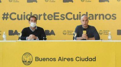 La intimidad de la crisis del Gobierno porteño: adultos mayores, barbijos y el enojo de Carrió