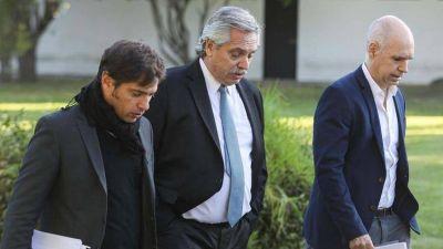 La extensión de la cuarentena de Alberto Fernández dejó en una posición incómoda a Horacio Rodríguez Larreta y Axel Kicillof