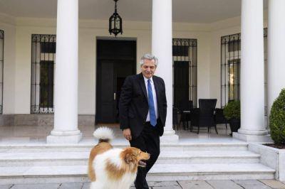 Alberto Fernández en cuarentena en la intimidad de Olivos, la cocina del poder