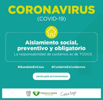 Varela:dos niños contagiados por el Coronavirus