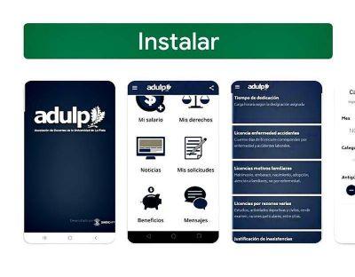 ADULP desarrolló una app para que en cuarentena se pueda acceder a sus servicios