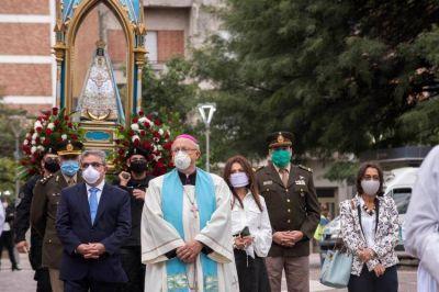 Solemne procesión de la Virgen del Valle, sin fieles y por las redes