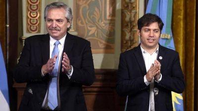 Alberto Fernández se comprometió a enviar fondos a Axel Kicillof para garantizar el pago de sueldos en los municipios bonaerenses