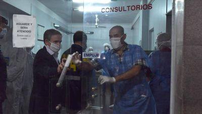 Trasladarán a los pacientes de PAMI que permanecen internados en el Centro de Salud norte de Vicente López donde hubo múltiples contagios de coronavirus