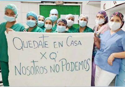 FESPROSA emitió una carta al presidente por los 120.000 trabajadores de las unidades sanitarias excluidos del bono