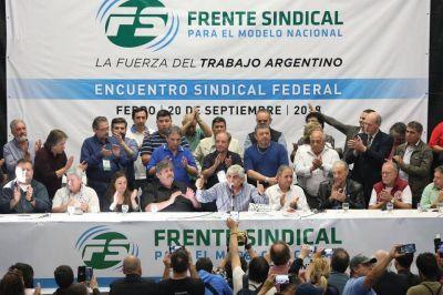 """Frente Sindical Para el Modelo Nacional: """"Ante las exigencias externas, primero, la Dignidad del Pueblo"""""""