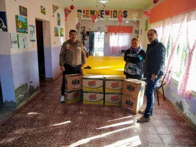 El gremio de los empleados fiscales e ingresos públicos realizó una donación en Comodoro