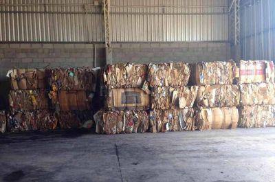 San Jerónimo Norte: en los primeros meses del año se recuperaron más de 31 tn de residuos