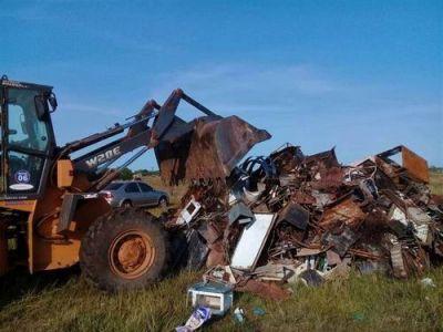 Se descartan menos residuos domiciliarios
