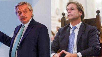 Alberto Fernández habló con el presidente uruguayo para tratar de bajar la tensión en el Mercosur