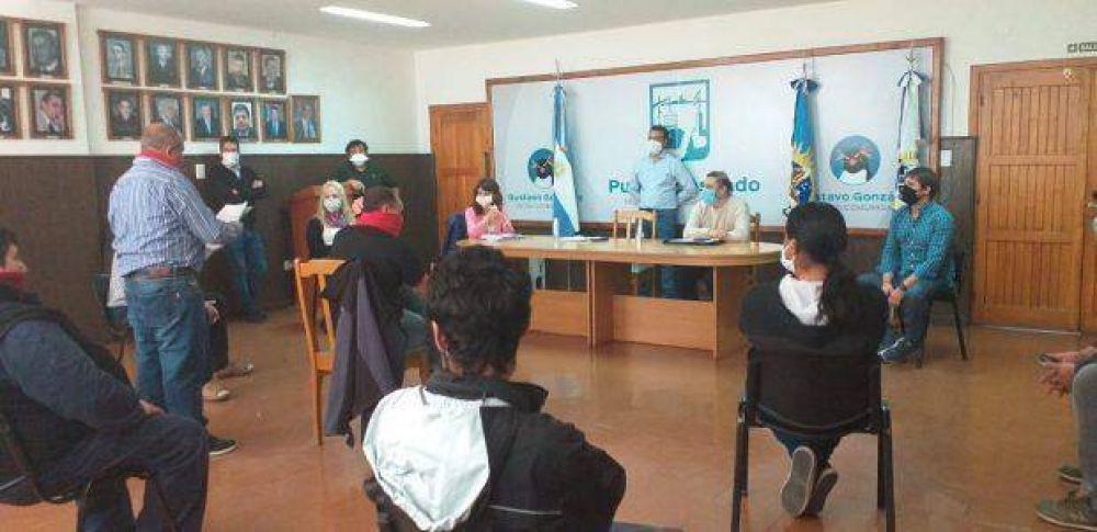 Santa Cruz: STIA y la Provincia se reunieron para regular la actividad