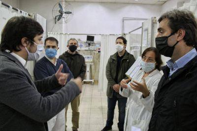 El viceministro de Salud de la Provincia visitó Luján