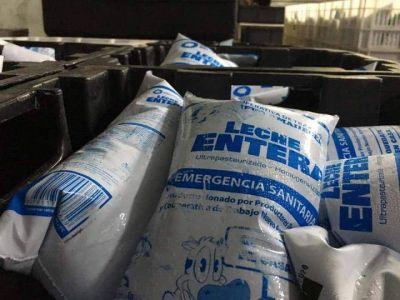 La cooperativa Nuevo Amanecer dona 3 mil litros de leche por semana