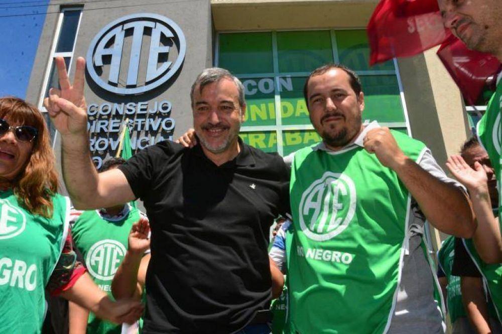 ATE - Río Negro logró el pago íntegro de salarios tras reunirse con la gobernadora