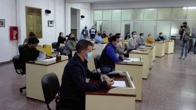 Berisso: El Concejo sesionó respetando las medidas de distanciamiento y el uso de barbijos