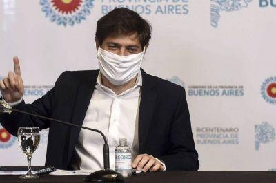 Coronavirus: con tensiones en su gabinete, Axel Kicillof afronta varias crisis simultáneas