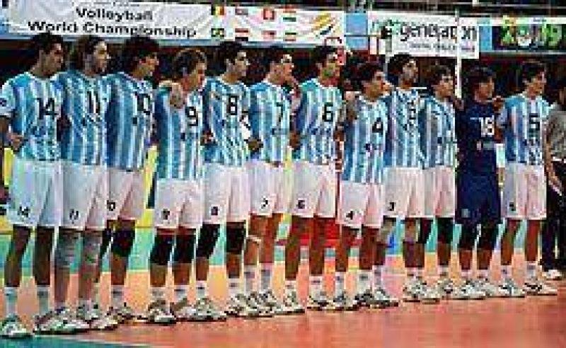 Argentina está en el N°1 del ranking mundial de voley