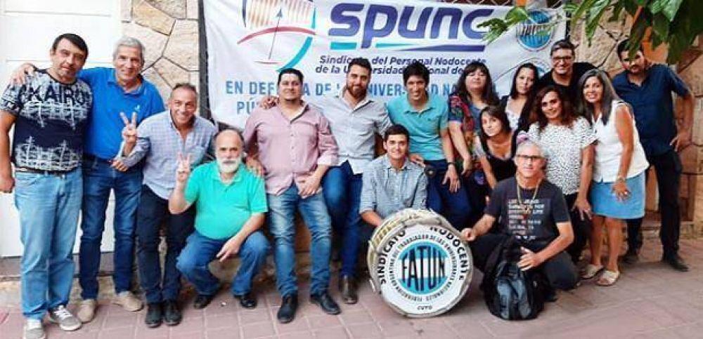 El Spunc cumple un paro nodocente por el incumplimiento salarial de la Uncuyo