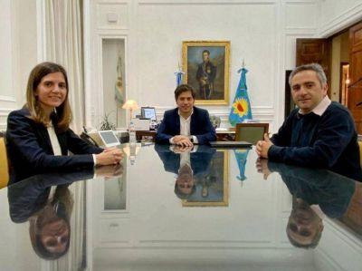 Kicillof efectiviza el primer cambio en su Gabinete: Andrés Larroque jura como ministro de Desarrollo