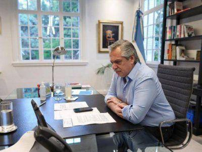Italia felicitó a Alberto Fernández por su temprano abordaje de la cuarentena