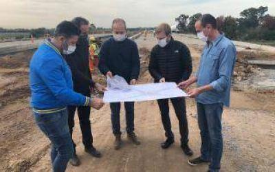 Reactivaron las obras de extensión de la Autopista Camino del Buen Ayre, que une 12 municipios
