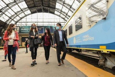 Trenes Argentinos impulsa acciones contra la violencia de género