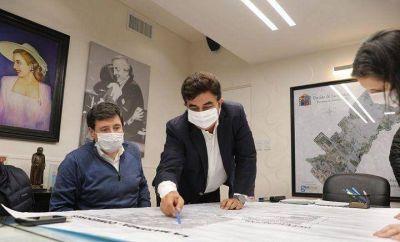 La Matanza | Espinoza recibió a Arroyó para reforzar la asistencia alimentaria y la generación de empleo post pandemia