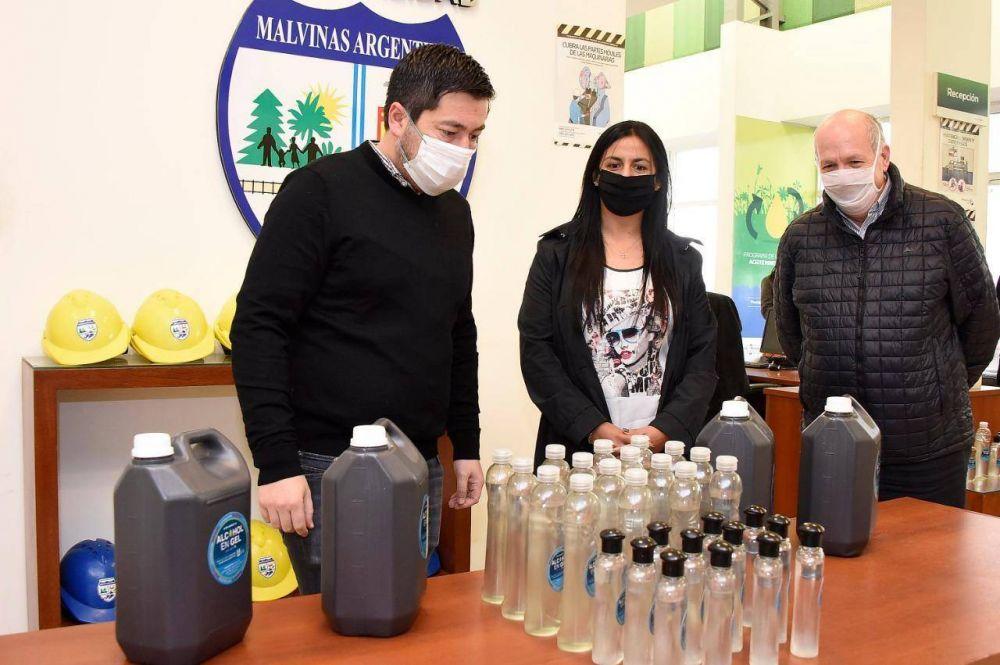 La Planta de Biodiésel de Malvinas ya produjo 23 mil litros de alcohol en gel