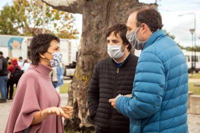 """Coronavirus en Quilmes: como es el operativo de testeo """"casa por casa"""" que se hizo en el barrio La Paz"""
