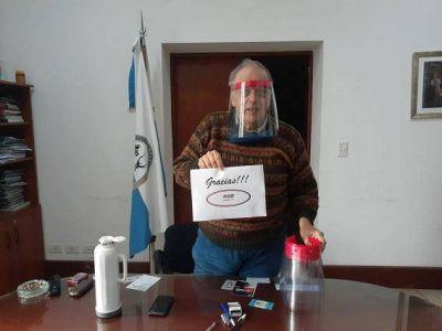 Gral. Lavalle: Donaron al municipio máscaras de protección facial total