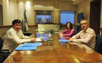 Arroyo recibió a Larroque y analizaron la situación social bonaerense en medio de la cuarentena