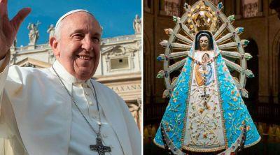 El Papa pide la intercesión de la Virgen de Luján frente al coronavirus