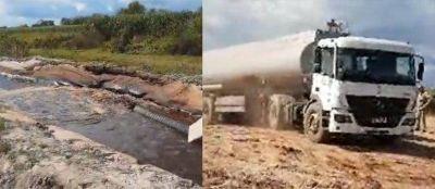 El ingenio Leales del grupo Budeguer envenena a pobladores arrojando miles de litros de vinaza contaminante (video)