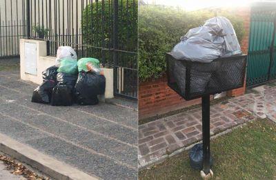 Reclamos por el servicio de recolección de residuos