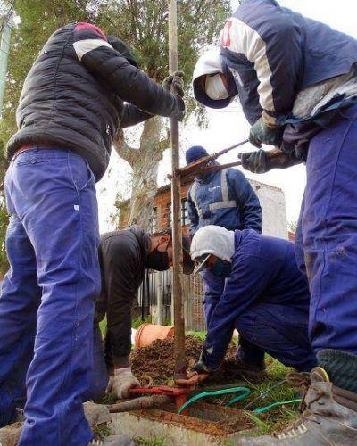 Continúa el recambio de bombas depresoras en Quilmes